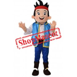 Cheap Jake Neverland Pirate Mascot Costume