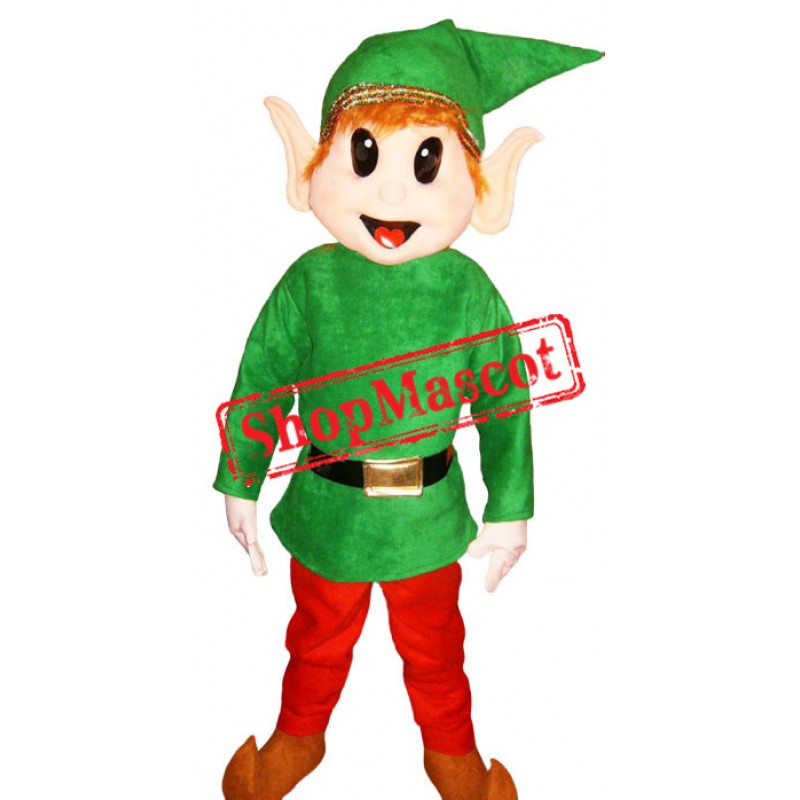 Cheap Elf Mascot Costume Adult Costume