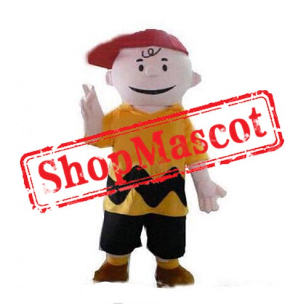 Charlie Brown Mascot Costume