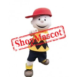 High Quality Charlie Brown Mascot Costume