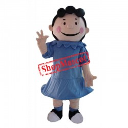 Cheap Lucy Girl Mascot Costume
