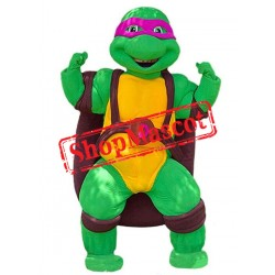 High Quality Purple Ninja Turtle Mascot Costume