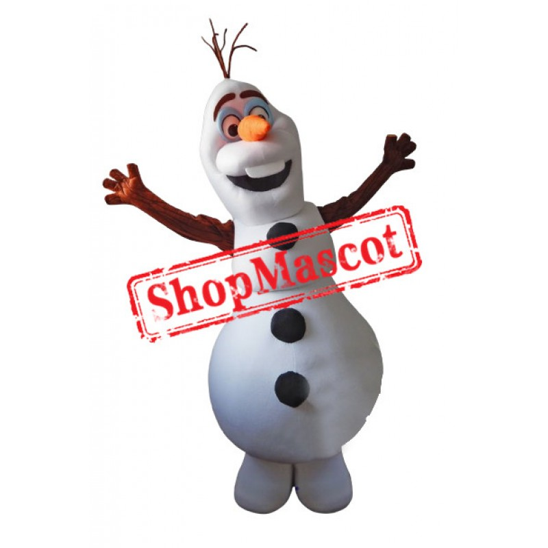 Best Quality Olaf Mascot Costume