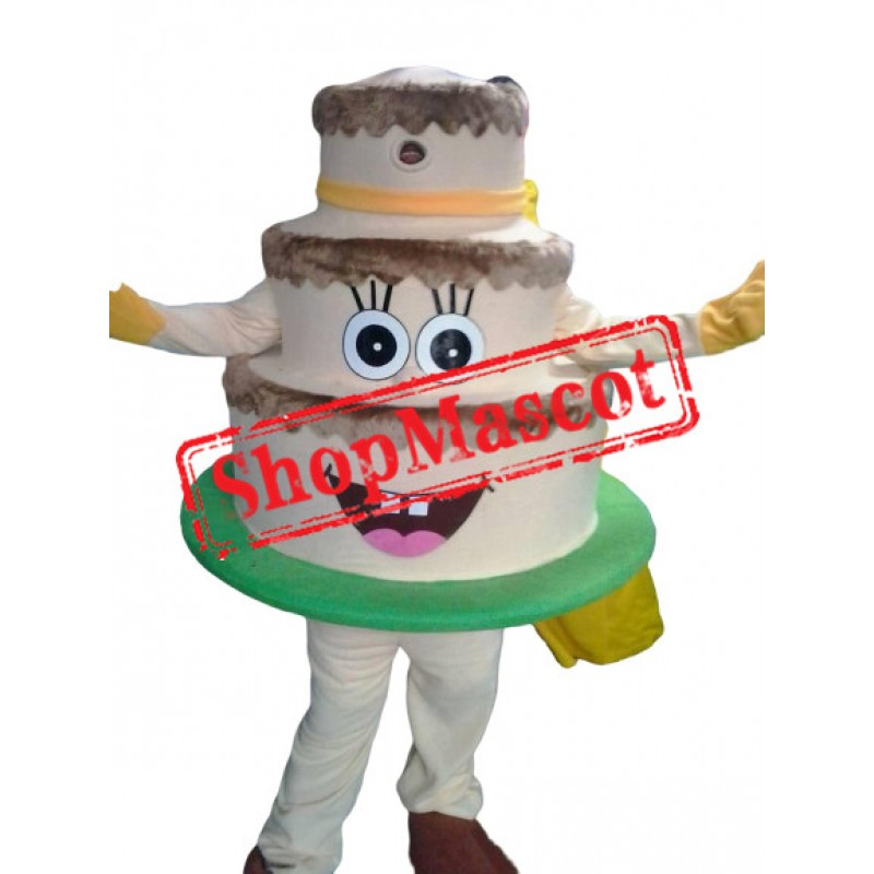 High Quality Cake Mascot Costume