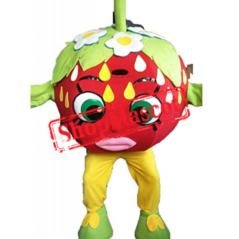 Funny Strawberry Mascot Costume