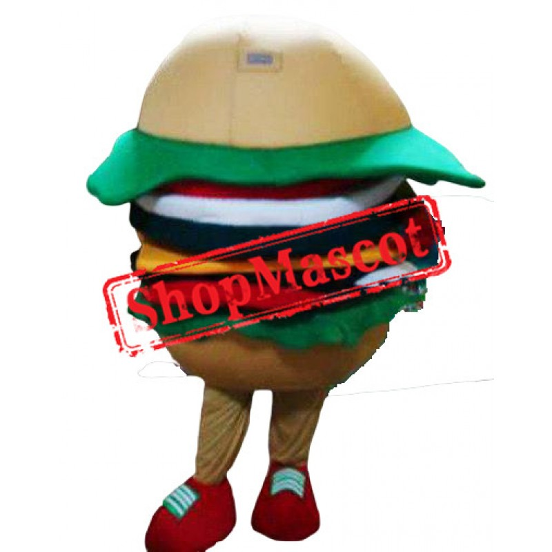 Top Quality Hamburger Mascot Costume