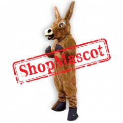 Big Ears Donkey Mascot Costume