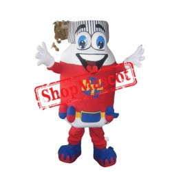 Pill Bottle Mascot Costume