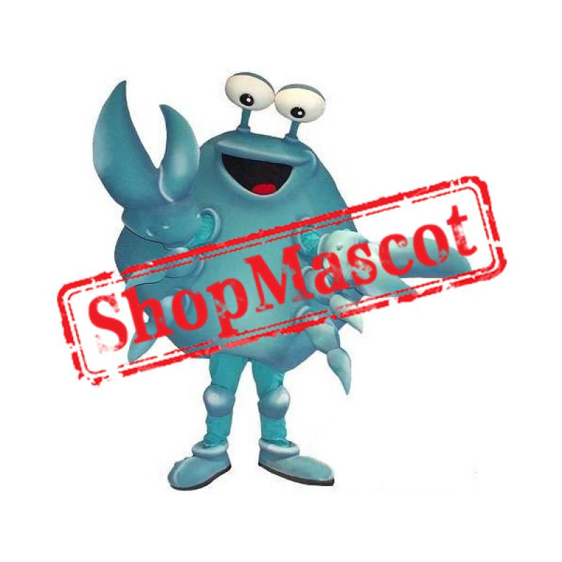 Blue Crab Mascot Costume