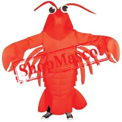 Lobster Waver Adult Mascot Costume