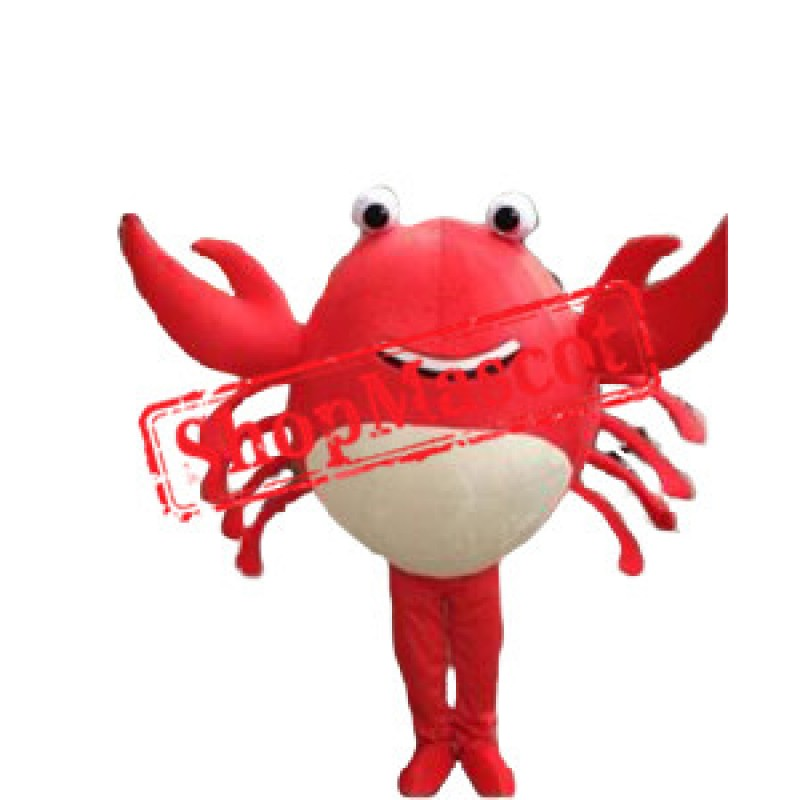 Cheap Red Crab Mascot Costume
