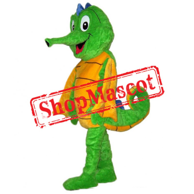Happy Lightweight Seahorse Mascot Costume