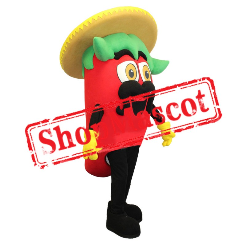 Mexican Pepper Mascot Costume