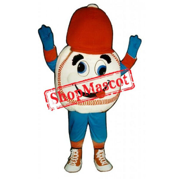 Cute Baseball Mascot Costume
