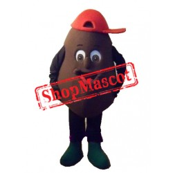 High Quality Coffee Bean Mascot Costume