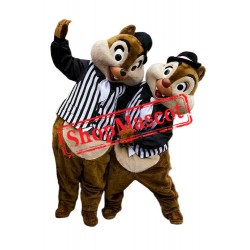 Best Quality Chip & Dale Chipmunk Mascot Costume