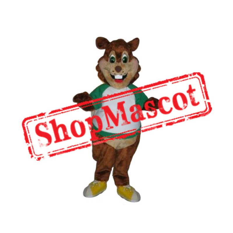 Sport Lightweight Squirrel Mascot Costume