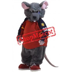 High Quality Sport Rat Mascot Costume