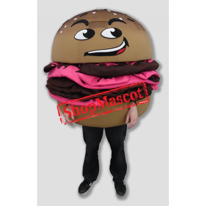 Delicious Hamburger Mascot Costume