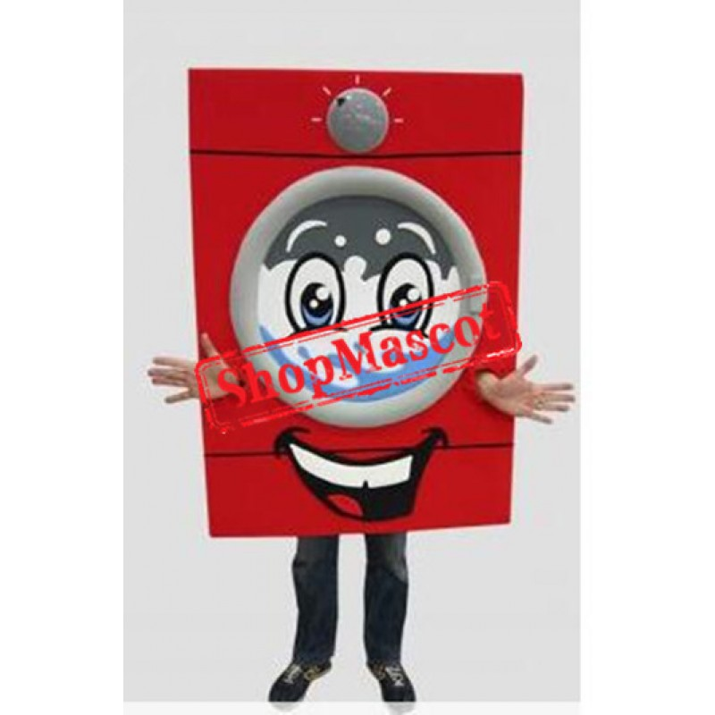 Washing Machine Mascot Costume