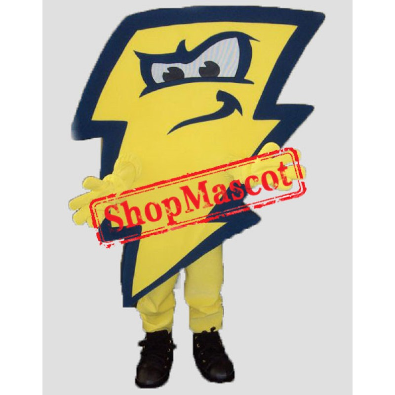 High Quality Lightning Mascot Costume