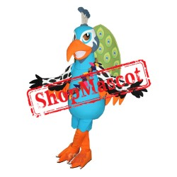 High Quality Peacock Mascot Costume