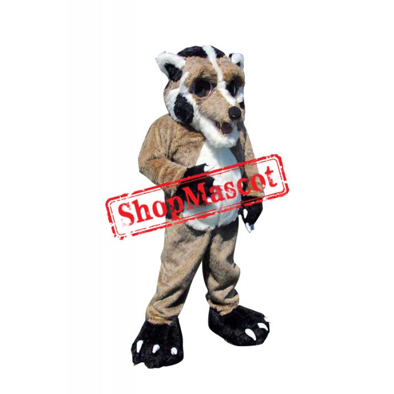 Top Quality Adult Wolf Mascot Costume