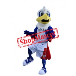College Blue Eagle Mascot Costume
