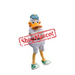 Sport White Duck Mascot Costume