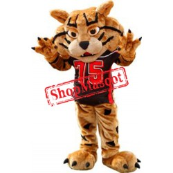 Friendly College Wildcat Mascot Costume