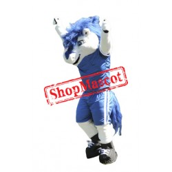 College Sport Horse Mascot Costume Free Shipping