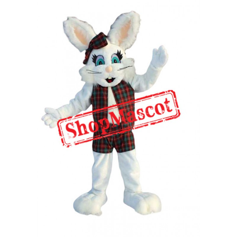 Super Lovely Bunny Mascot Costume