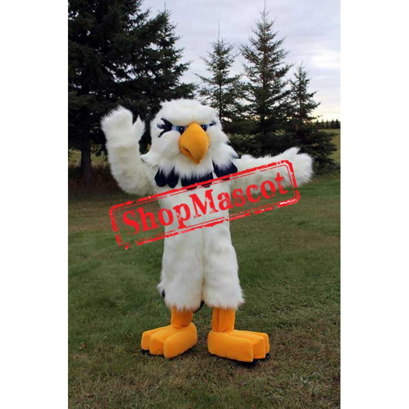 All White Eagle Mascot Costume