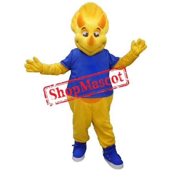 Best Quality Triceratops Mascot Costume