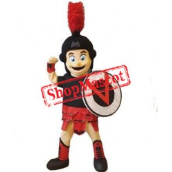 Kind Spartan Trojan Knight Mascot Costume