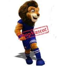 Football Lion Mascot Costume Free Shipping