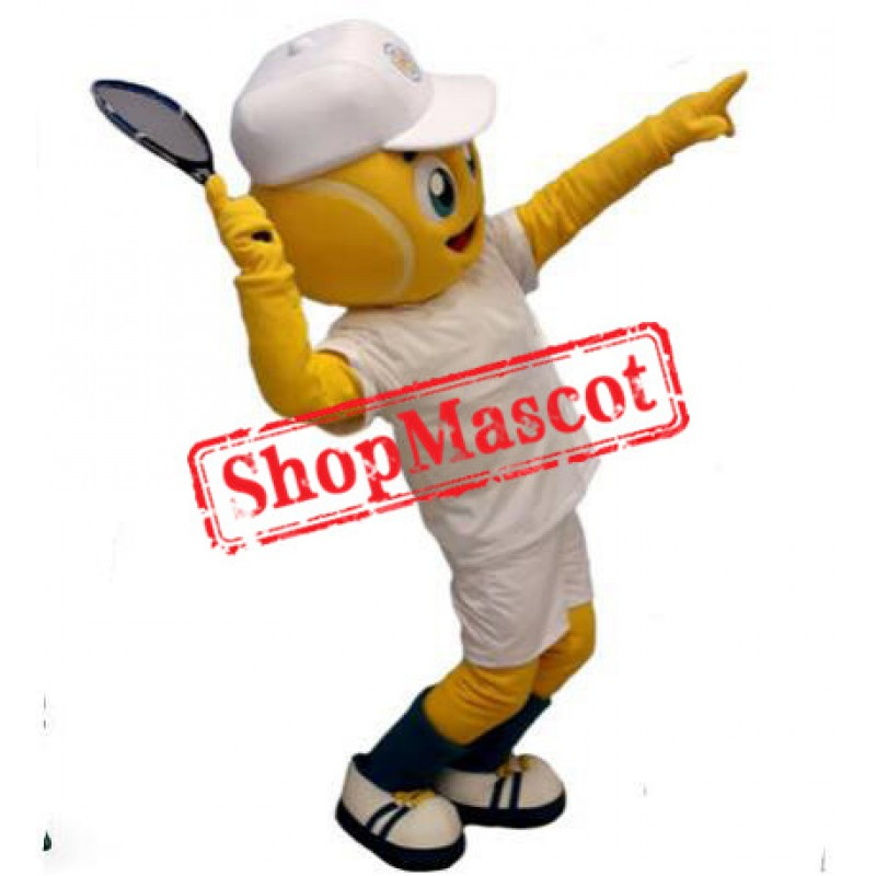 Tennis Boy Mascot Costume