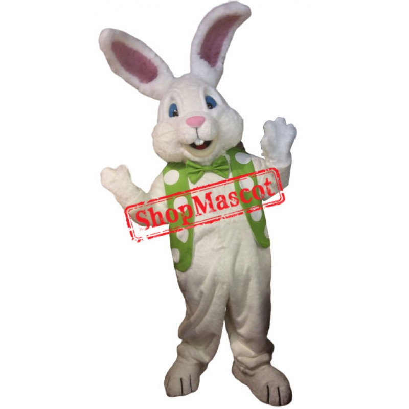 Super Cute White Rabbit Mascot Costume
