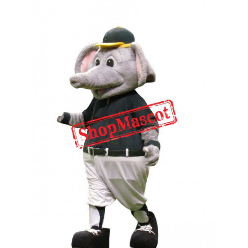 Sport Elephant Mascot Costume Free Shipping