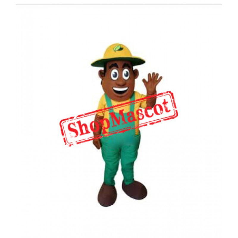 Happy Farmer Mascot Costume
