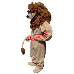 Cool Lion Mascot Costume