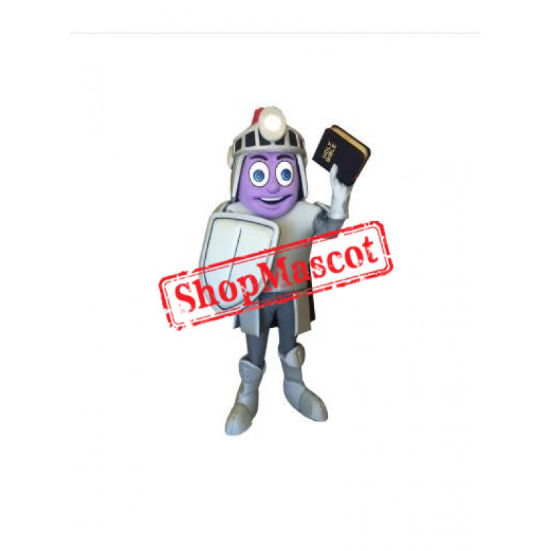 Church Knight Mascot Costume