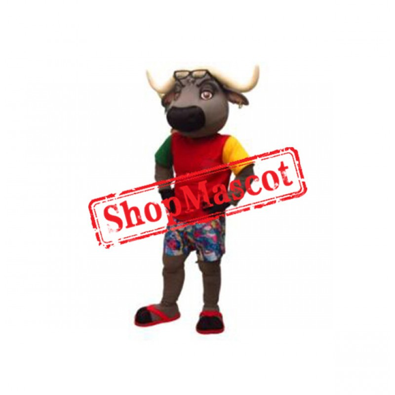 College Buffalo Mascot Costume