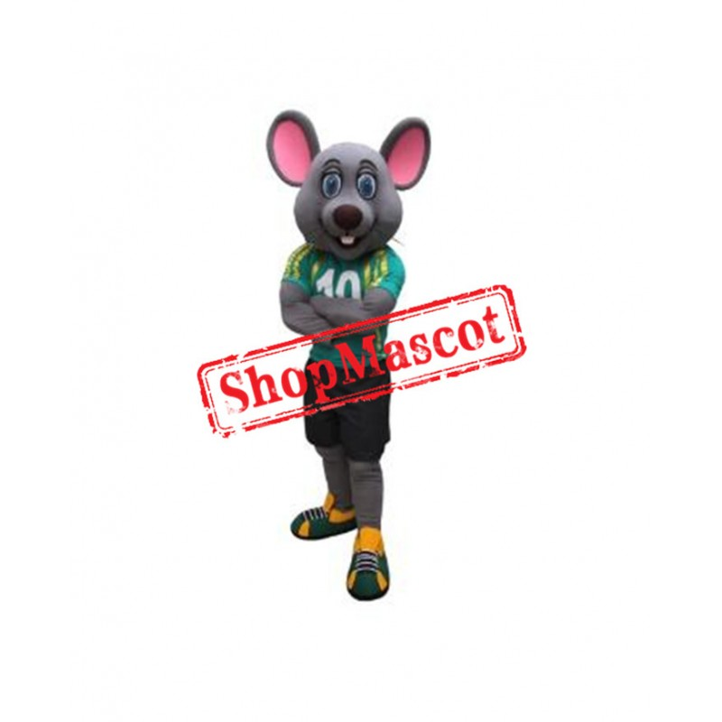 Sport College Mouse Mascot Costume