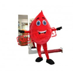 Cheap Blood Drop Mascot Costume