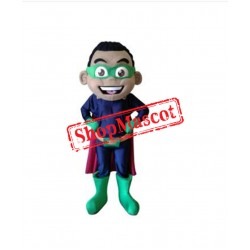 High Quality Super Boy Mascot Costume