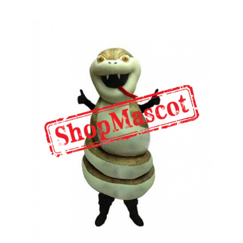 Top Quality Snake Mascot Costume Free Shipping