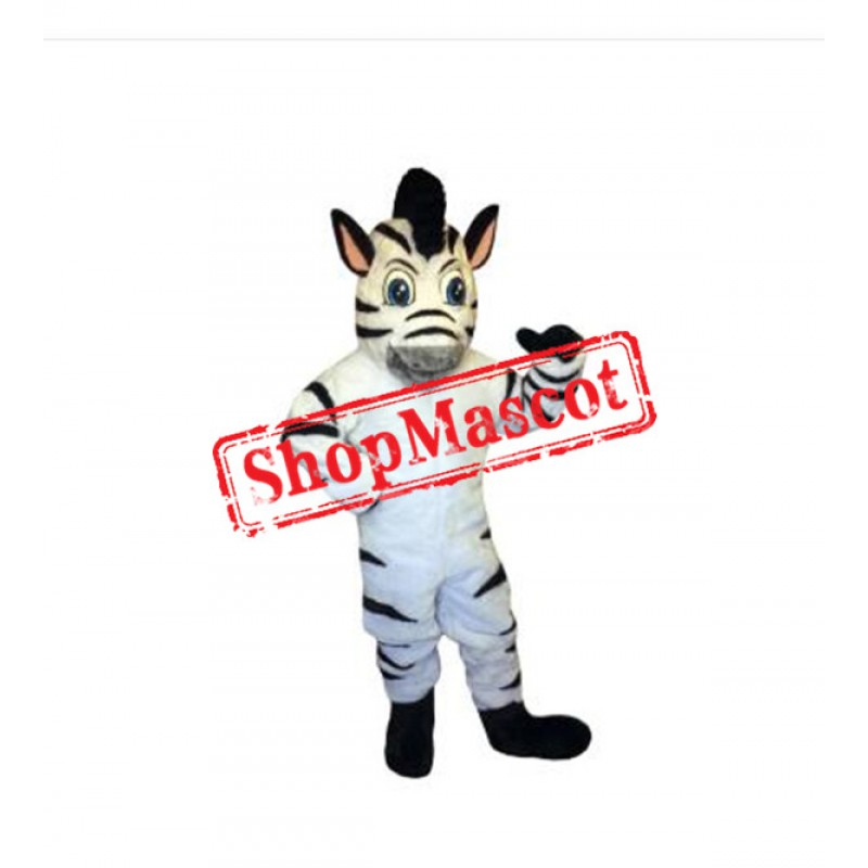 Lovely Zebra Mascot Costume