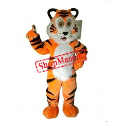 Lovely Tiger Mascot Costume Free Shipping