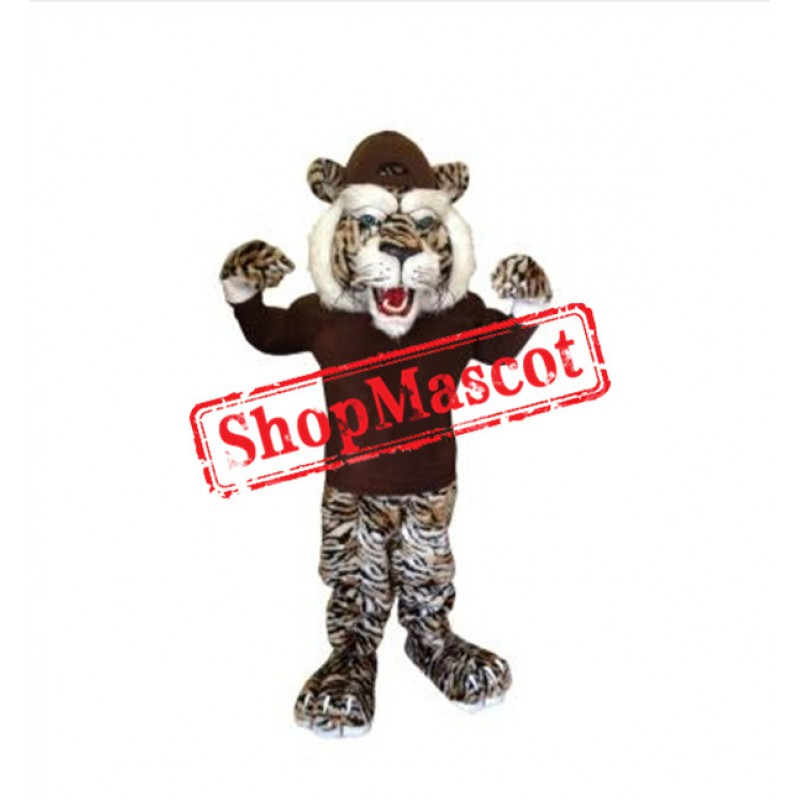 Fierce Deluxe Tiger Mascot Costume